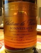 法雷尔邦尼舒梅勒莱斯甜白葡萄酒(Chateau La Variere Bonnezeaux Les Melleresses, Loire, France)