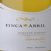 四月庄园精选特浓情干白葡萄酒(Finca Abril Selected Harvest Torrontes,Salta,Argentina)