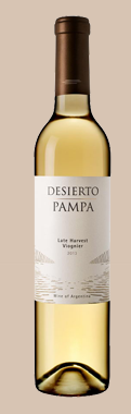 沙漠草原系列维欧尼甜白葡萄酒(Bodega del Desierto Pampa Viognier,La Pampa,Argentina)