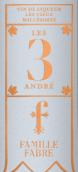 法布尔加斯帕安德烈3代利口酒(Chateau Fabre Gasparets Les Vieux Millesimes Les 3 Andre Vin de Liqueur, Corbieres Boutenac, France)