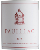 拉图波雅克红葡萄酒(Pauillac de Chateau Latour, Pauillac, France)