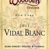 伍德伯里威代尔干白葡萄酒(Woodbury Vineyards Vidal Blanc,New York,USA)