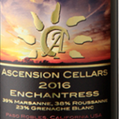 上升酒庄女巫干白葡萄酒(Ascension Cellars Enchantress, Paso Robles, USA)