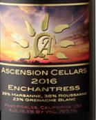 上升酒庄女巫干白葡萄酒(Ascension Cellars Enchantress,Paso Robles,USA)