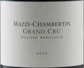 柏恩斯坦酒庄(玛兹-香贝丹特级园)红葡萄酒(Olivier Bernstein Mazis-Chambertin Grand Cru,Cote de Nuits,...)