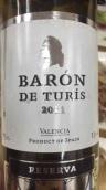 特里斯公爵干白葡萄酒(Baron de Turis 'Baron de Turis Blanco',Valencia,Spain)