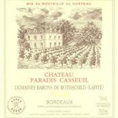 凯萨天堂酒庄干红葡萄酒(Chateau Paradis Casseuil,Entre-Deux-Mers,France)
