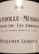 本杰明·勒胡酒庄爱侣(香波-慕西尼一级园)红葡萄酒(Benjamin Leroux Les Amoureuses,Chambolle-Musigny Premier Cru...)