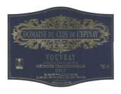 伊比奈庄园经典起泡酒(Domaine du Clos de L'Epinay Classique Brut,Vouvray,France)