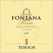 泰得奇芳塔娜干红葡萄酒(Tedeschi Family Vineyards Capitel Monte Fontana, Recioto della Valpolicella Classico DOCG, Italy)
