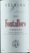 费尔西纳芳塔罗洛干红葡萄酒(Felsina Berardenga Fontalloro, Tuscana, Italy)