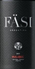 法丝珍藏马尔贝克干红葡萄酒(Fasi Estate Winery Reserva Malbec, Uco Valley, Argentina)