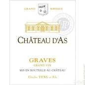 阿斯酒庄干红葡萄酒(Chateau d'As, Graves, France)