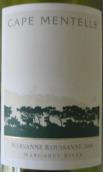 曼达岬玛珊-瑚珊干白葡萄酒(Cape Mentelle Marsanne - Roussanne, Margaret River, Australia)