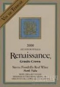 复兴泰勒瓦花岗皇冠干红葡萄酒(Renaissance Vin de Terroir Granite Crown,North Yuba,USA)