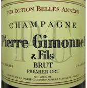 皮埃尔吉侬父子贝拉一级园精选极干型白中白香槟(Champagne Pierre Gimonnet&Fils Selection Belles Annees Blanc...)