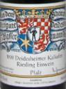 巴塞曼乔登石灰窑雷司令冰白葡萄酒(Weingut Geheimer Rat Dr.von Bassermann-Jordan Deidesheimer ...)