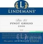 利达民Bin85灰皮诺干白葡萄酒(Lindeman's Bin 85 Pinot Grigio,South Eastern Australia)
