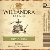 威兰德拉庄园干型阿佩罗加强酒(Willandra Estate Dry Apera,Riverina,Australia)