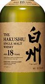 白州18年单一麦芽威士忌(Hakushu Aged 18 Years Single Malt Whisky, Japan)