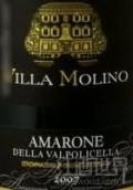 维拉莫里诺阿玛罗尼干红葡萄酒(Villa Molino Amarone della Valpolicella DOCG, Veneto, Italy)