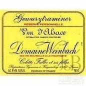 温巴赫私人珍藏琼瑶浆白葡萄酒(Domaine Weinbach Gewurztraminer Reserve Personnelle, Alsace, France)