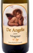 安吉利斯维欧尼干白葡萄酒(De Angelis Wines Viognier,California,USA)