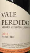 帕迪多红葡萄酒(Vale Perdido Tinto Red, Vinho Regional Lisboa, Portugal)