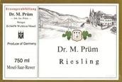 普朗曼弗雷德博士雷司令白葡萄酒(Joh.Jos.Prum Dr.M.Prum Riesling,Mosel,Germany)