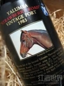 御兰堡良驹草莓年份波特酒(Yalumba Thoroughbred Series Strawberry Road Vintage Port, Baross Valley, Australia)