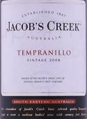 杰卡斯丹魄干红葡萄酒(Jacob's Creek Tempranillo, South Eastern Australia, Australia)
