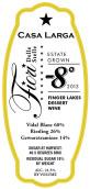 拉尔加星之花零下8度加强酒(Casa Larga Fiori Delle Stelle Negative 8 Ice Wine, Finger Lakes, USA)