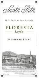 桑塔丽塔森林长相思干白葡萄酒(Santa Rita Floresta Sauvignon Blanc,Leyda Valley,Chile)