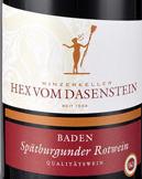 达森施泰因黑皮诺干红葡萄酒(1升装)(Hex vom Dasenstein Spatburgunder Rotwein 1L,Baden,Germany)