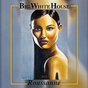 大白屋酒庄酒庄系列瑚珊干白葡萄酒(Big White House Winery Roussanne,California,USA)
