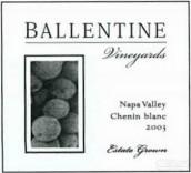 巴伦丁白诗南干白葡萄酒(Ballentine Chenin Blanc, Napa Valley, USA)