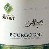 费舍酒庄阿里高特干白葡萄酒(Domaine Fichet Bourgogne Aligote,Burgundy,France)