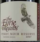 艾瑞传统陈酿珍藏黑皮诺干红葡萄酒(The Eyrie Vineyards Original Vines Reserve Pinot Noir,Dundee...)