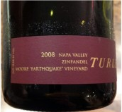 戴利摩尔地震园仙粉黛干红葡萄酒(Turley Wine Cellars Moore Earthquake Vineyard Zinfandel,Napa...)