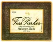 帕克混合白葡萄酒(Fess Parker Melange Blanc,Santa Barbara County,USA)