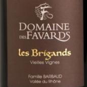花珐布里根干红葡萄酒(Domaine des Favards Les Brigands,Cotes du Rhone,France)