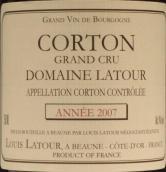路易拉图庄园(科尔登特级园)干红葡萄酒(Louis Latour Domaine Latour Corton Grand Cru, Cote de Beaune, France)
