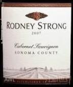 罗德尼斯特朗赤霞珠干红葡萄酒(Rodney Strong Cabernet Sauvignon, Sonoma County, USA)