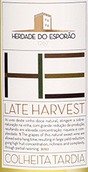 艾斯波澜晚收干白葡萄酒(Herdade Do Esporao Late Harvest Branco,Alentejo,Portugal)