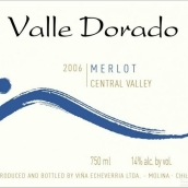 埃切维里亚威尔剑鱼梅洛干红葡萄酒(Echeverria Valle Dorado Merlot, Central Valley, Chile)