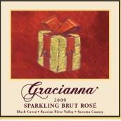 格拉齐亚那酒庄起泡干型桃红葡萄酒(Gracianna Winery Sparkling Brut Rose,Sonoma County,USA)