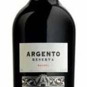 银谷珍藏马尔贝克干红葡萄酒(Argento Reserva Malbec, Mendoza, Argentina)