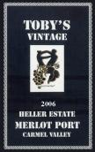 海勒托比年份梅洛波特酒(Heller Estate Toby's Vintage Merlot Port, Carmel Valley, USA)