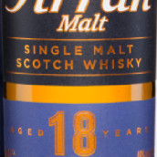 艾伦18年苏格兰单一麦芽威士忌(Arran Aged 18 Years Single Malt Scotch Whisky,Isle of Arran,...)
