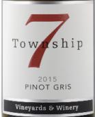 7号镇灰皮诺半干型白葡萄酒(Township 7 Pinot Gris,Okanagan Valley,Canada)